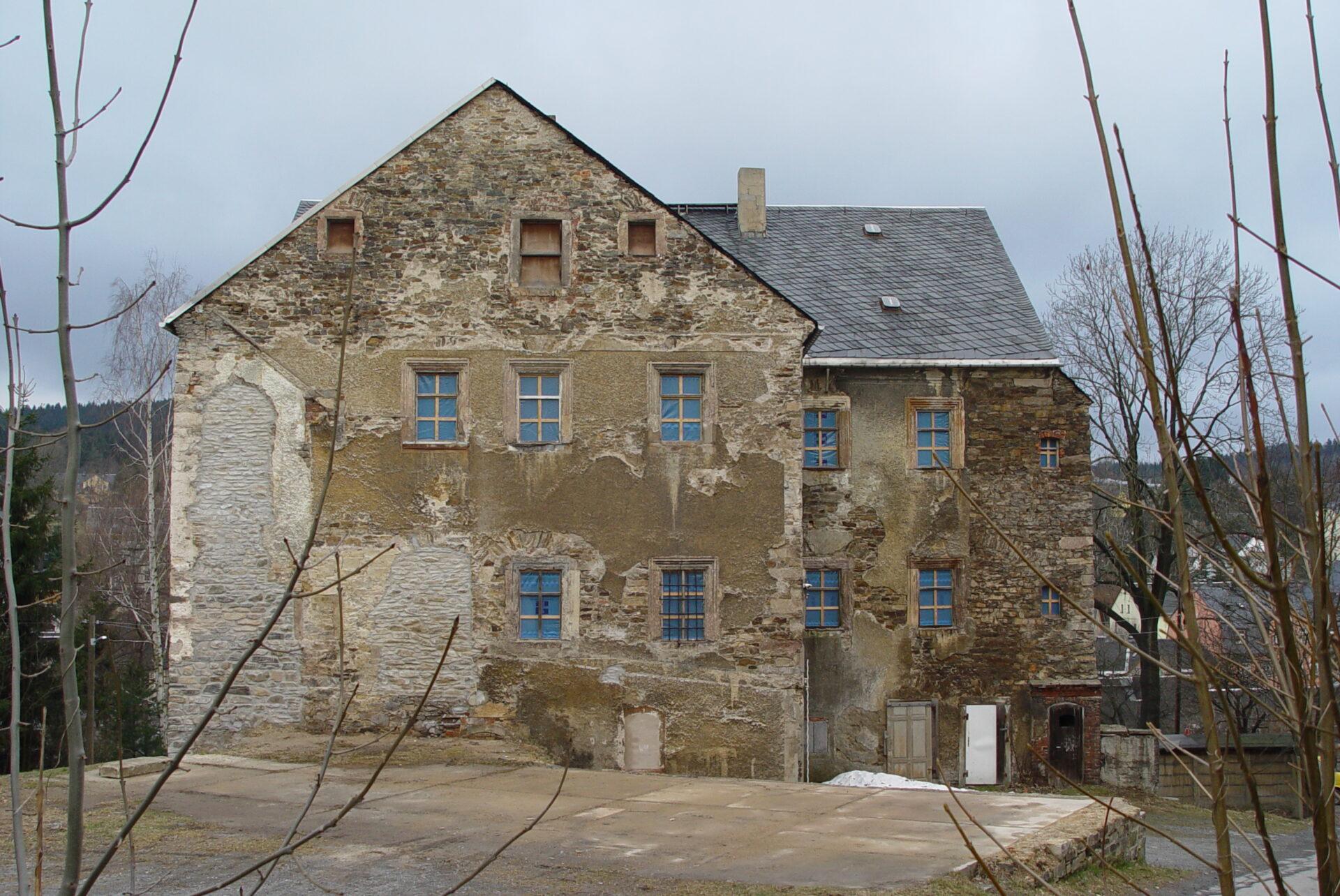 Zustand des Gebäudes 2003